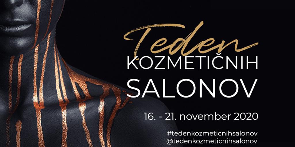 Teden kozmetičnih salonov 2020 november